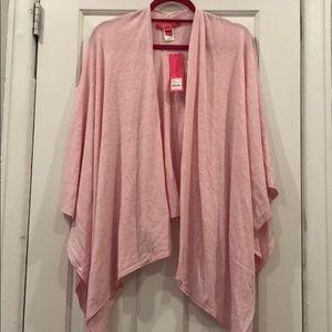 MWT Lilly pulitzer Terri Sweater Wrap- Pink